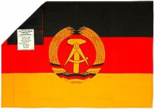 DDR Fahne Original 60 x 40 cm | GRATIS DDR