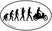 DDR Moped Motorroller Scooter EVOLUTION Aufkleber