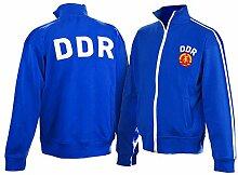 DDR Retro Jacke gestickt | GRATIS DDR Geschenkkarte | Ossi Produkte | Geschenkidee für alle Ostalgiker aus Ostdeutschland | DDR Geschenke