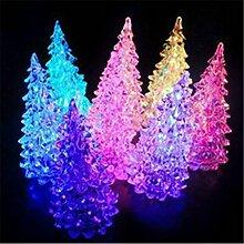 DDU Acryl Weihnachtsbaum LED-Nachtlicht Lampe