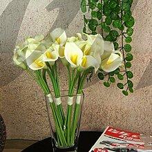 Ddu (TM) 5x weiß künstliche Calla Lily Flower
