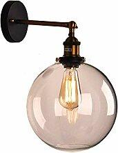DDX Modern Vintage Industrielampenschirm Glasdecke