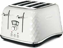 De'Longhi Brillante Faceted 4 Slice Toaster