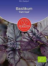 De Bolster Bio-Samen Basilikum 'Dark