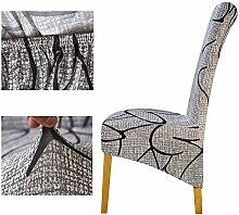 DE Home Hohe Rückenlehne Große Stuhlabdeckung