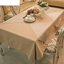 DE Runde tischdecke für hotels,cloth-style europäischen esstisch square tischtuch-A Durchmesser380cm(150inch)