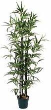 De Vielle Künstliche Bambus Baum Realistische Home Pflanze Dekoration, Metall, grün, 4f