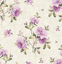 de40817 - Chelsea Garten floral violett Schöne Dekoration Rolle