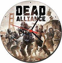 Dead Alliance Wanduhren Wall Clock 20cm
