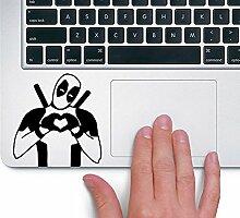Deadpool TRACKPAD Sticker Aufkleber (Schwarz)