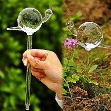 dealglad® Handgefertigtes Glas Schnecke, automatischen Bewässerung, Blumen stylischer Slow sickerwasser
