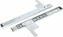 DealMux 16 Zoll Kugellager Schubladenschränke Möbel Slides Schienenstrang 2 Stück