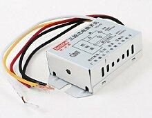 DealMux AC 180-250V 2 Ways 3 Abschnitt 5 Kabel Lampensteuerung Beleuchtungsschalter