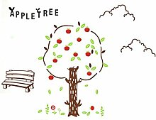 DealMux Apple Tree Bank Muster Schlafzimmer