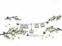 DealMux Baum Blatt Muster Fenster Wohnzimmer