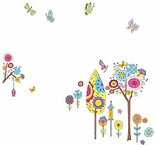 DealMux Blumen-Schmetterlings-Baum-Muster