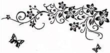 DealMux Blumenmuster Selbstklebende entfernbarer