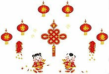 DealMux chinesischer Knoten Muster Selbstklebende