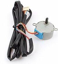 DealMux DC 12V 100Hz 1 / 42,5 RPM Luft Condisynchronous Motor w Cable