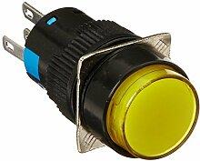 DealMux DC 24V Lampe SPDT Momentary Druckschalter