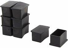 DealMux Gummi Rechteck-Möbel Tisch Stuhl Bein