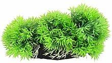 DealMux Kunststoff Aquarium Aquascape Imitate Dickicht Rasen Gras Pflanze Dekoration