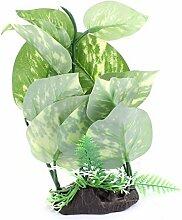 DealMux Kunststoff Aquarium Unterwasser Künstliche Pflanze Gras Ornamen