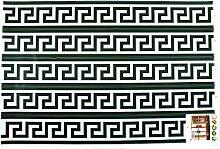 DealMux Labyrinth Druck Wohnzimmerfenster entfernbarer Wand-Aufkleber Wallpaper Wandbild