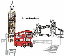 DealMux London Street Pattern Haushalt entfernbare