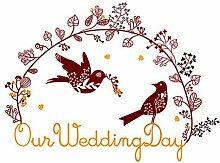 DealMux Magpies Paare Muster-Hochzeit Raum