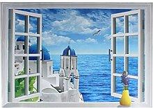 DealMux Ozean Schloss Muster 3D-entfernbare