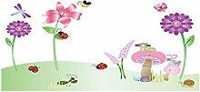 DealMux Pilz Blume Insekt Muster entfernbare