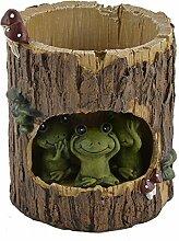 DealMux Resin Baum Loch Frosch gestaltet