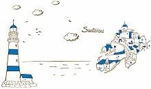 DealMux Santorini Schloss-Muster PVC-entfernbare