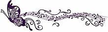 DealMux Schmetterling Musiknotation Muster