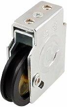 DealMux Schwarz PU 43mm Dia-Rollen-Metall-Fenster Gewicht ZAHNRIEMENRAD