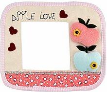 DealMux Startseite Schlafzimmer Apple-Herz-Muster-Tuch-Wand-Schalter-Schutz-Aufkleber