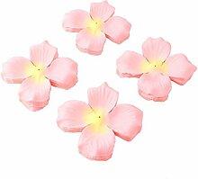 DealMux Stoff Feiern Emulational Rose Blume Blütenblatt Dekoration Ornament 250pcs