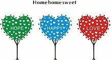 DealMux Sweet Home Muster Selbstklebende