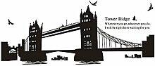DealMux Tower Bridge Muster Selbstklebende