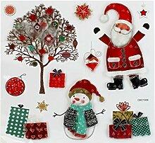 DealMux Weihnachten Bunte Weihnachtsmann-Baum