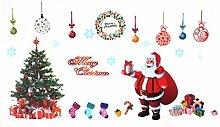 DealMux Weihnachtsbaum-Muster 3D Selbstklebende
