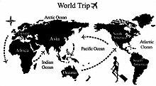 DealMux World Trip Muster Schlafzimmer