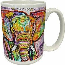 Dean Russo Elefant Modern Animal Art Porzellan
