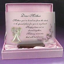 Dear Mother-schönes Glas, Gedicht, Geschenkidee für die Mutter