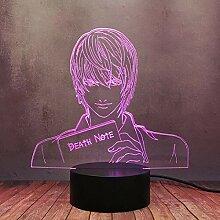 Death Note Kira Yagami Light Model Lamp Cool