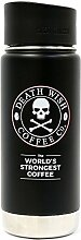 Death Wish Coffee Thermobecher Edelstahl, isoliert