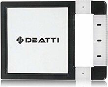 DEATTI Große Handspiegel Unbreakable mit Silikon