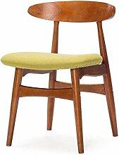 Deawecall Skandinavische Retro-Stühle, Einfache