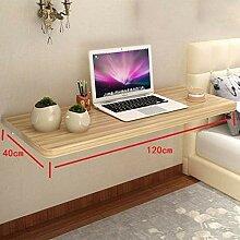Deawecall Tisch, zusammenklappbar, wandmontiertes